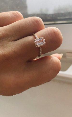 14 Karat Roségold Ring