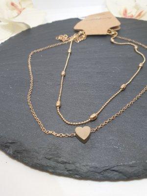 14 karat vergoldez Damenkette Neu