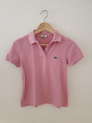 14 small krokodil lacoste pink rosa Pique Poloshirt Oberteil Designer Polo