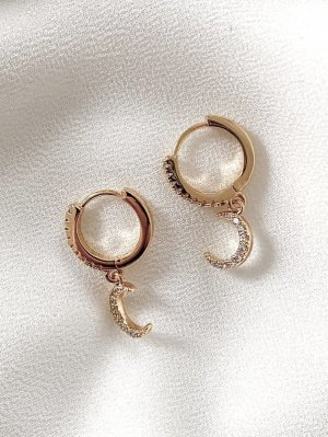 ByNouck Ear Hoops gold-colored