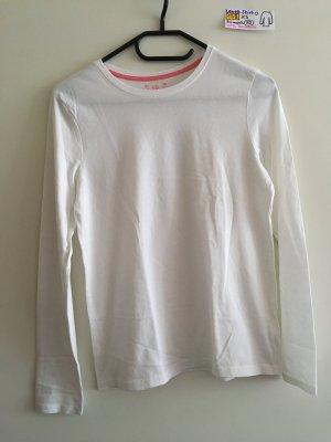 158 XS langärmliges Shirt weiß Primark