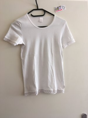 164 XS T Shirt weiß Schiesser