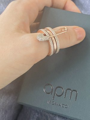 apm Monaco Statement Ring rose-gold-coloured