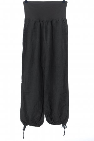 17&co Baggy Pants schwarz meliert Casual-Look