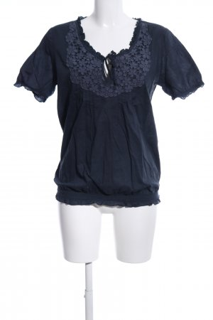 17&co Blusentop blau Casual-Look