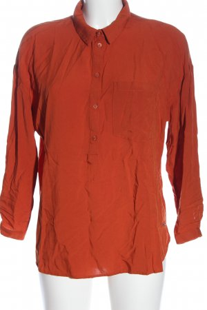 17&co Hemdblouse rood casual uitstraling