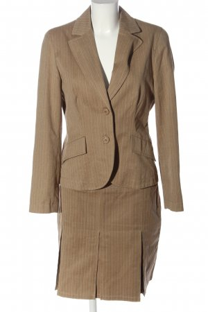 17&co Ladies' Suit brown striped pattern business style
