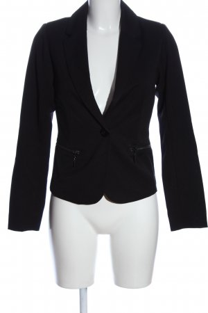 17&co Blazer corto negro estilo «business»