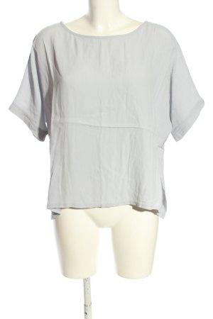 17&co Blouse à manches courtes gris clair style décontracté