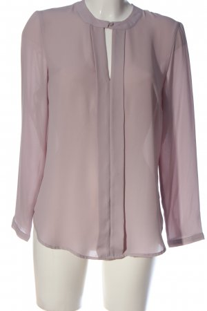 17&co Blusa de manga larga rosa look casual