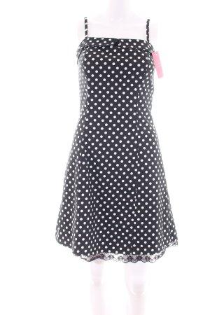 17&co Mini-jurk zwart-wit volledige print casual uitstraling