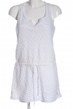 17&co Mini vestido blanco look casual
