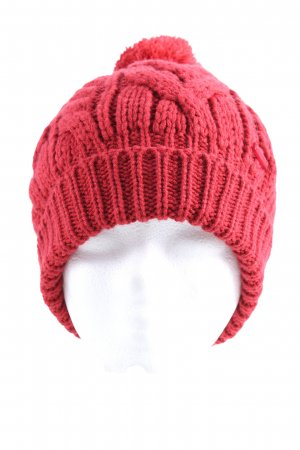 17&co Cappello con pon pon rosa stile casual