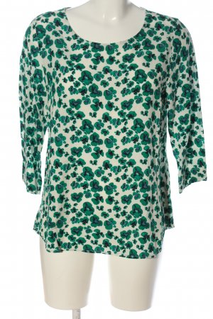 17&co Slip-over Blouse green-natural white allover print casual look