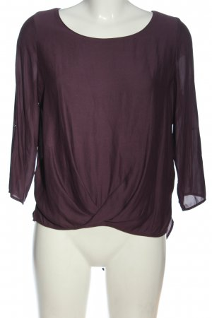 17&co Slip-over blouse lila casual uitstraling