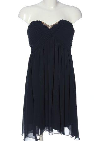 17&co schulterfreies Kleid schwarz Elegant
