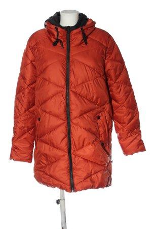 17&co Veste matelassée rouge motif de courtepointe style décontracté