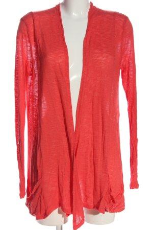 17&co Cardigan in maglia rosso stile casual