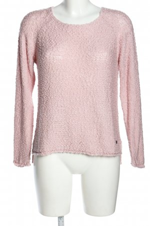 17&co Jersey de punto rosa look casual