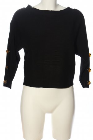 17&co Knitted Sweater black casual look