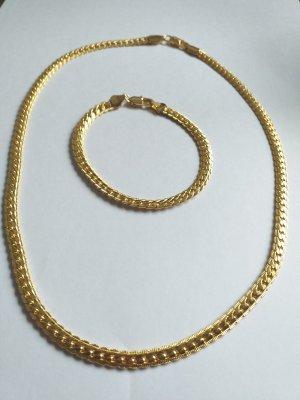 Collier doré bronze