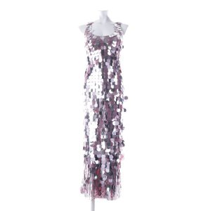 1828€ Diane von Fürstenberg Ballkleid besondere Anlässe Seide Silma Pailetten Silver Mauve S lilac
