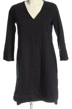 1863 by Eterna Sukienka z długim rękawem czarny W stylu casual