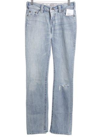 1921 Jeans bootcut bleu azur-bleuet style décontracté
