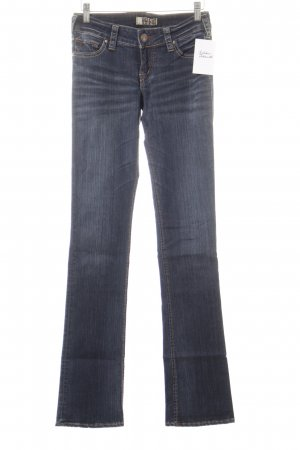 1921 Jeans bootcut bleu acier-bleu foncé style décontracté