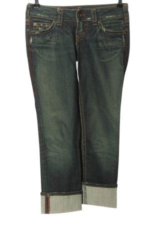 1921 Jeans taille basse bleu style décontracté