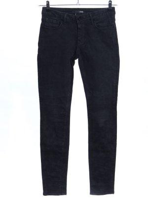 1921 Jeansy o obcisłym kroju czarny W stylu casual