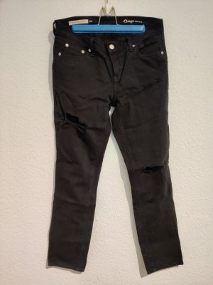 1969 girlfriend jean in schwarz