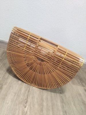 Vintage Mandtas lichtbruin-bruin