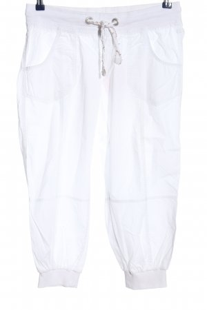 1982 3/4 Length Trousers white casual look
