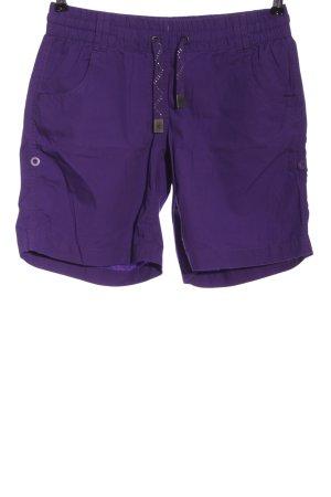 1982 Hot pants lila casual uitstraling