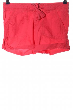 1982 Hot pants rood casual uitstraling