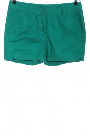 1982 Hot pants turkoois casual uitstraling