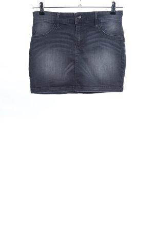 1982 Jeansowa spódnica czarny W stylu casual