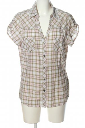 1982 Short Sleeve Shirt check pattern casual look
