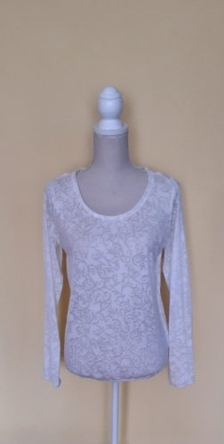 1982 Transparante blouse wit