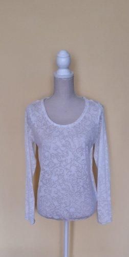 1982 Blusa transparente blanco