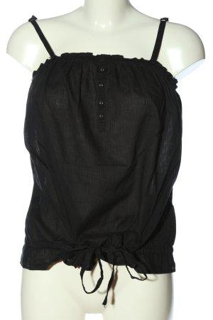 1982 Spaghettibandtopje zwart casual uitstraling