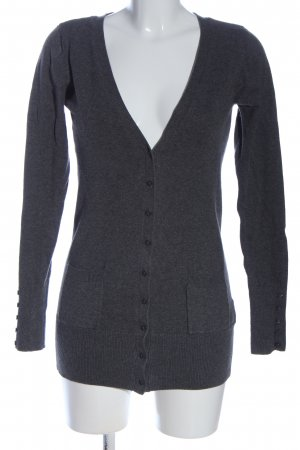 1982 Knitted Cardigan black flecked casual look
