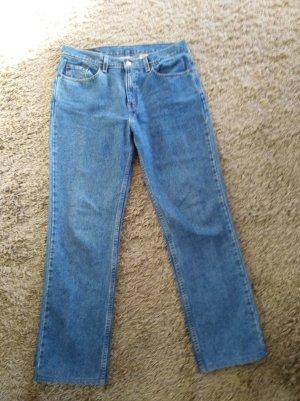 Levi's Jeans boyfriend bleu coton