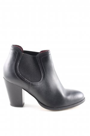 Ankle Boots schwarz Business-Look
