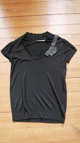Kookai T-shirt col en V noir