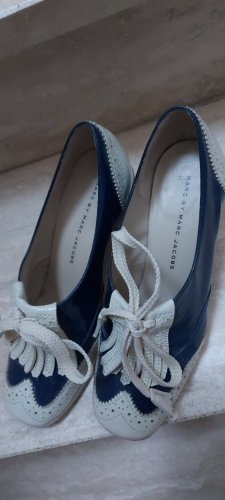 Marc Jacobs Scarpa Mary Jane blu scuro Pelle