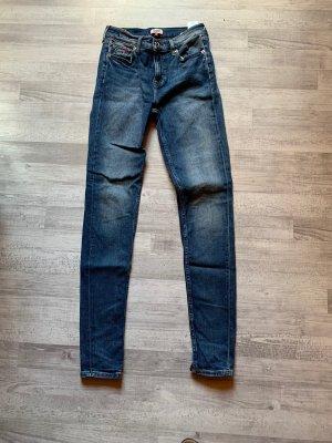 1x getragene Tommy Hilfiger Skinny Jeans