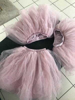 Tulle Skirt rose-gold-coloured-light pink