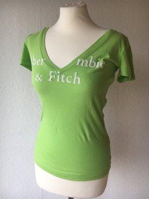 2 Abercrombie Shirts grün und orange